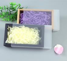 9 dimensioni Kraft bianco nero regalo scatola di imballaggio con finestra kraft scatola di carta regalo scatola di carta con coperchio Regalo di cartone scatola di cartone