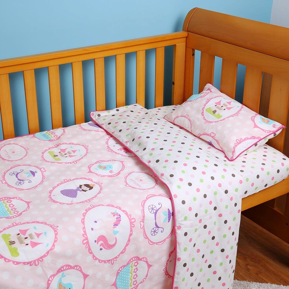 i-baby Baby Bedding - Pink Mała księżniczka taneczna 3PCS Printed - Pościel - Zdjęcie 2