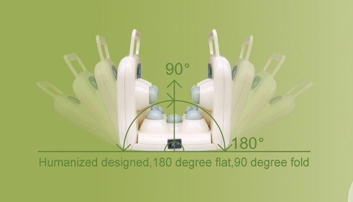 11 шары реального jade роликовый массажер проектор светодиодный фотон света инфракрасного колено боли терапии устройства подогревателя тела