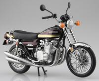1:12 Aoshima SKYNET Finished Model Diecast Motorcycle Kawasaki 900 Super 4 Z1 Classics Motor Model Bike