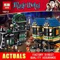 2016 Nueva LEPIN 16012 2025 Unids Harry Potter Magia Palabra Callejón Diagon Compatible 10217 Juguetes Gif