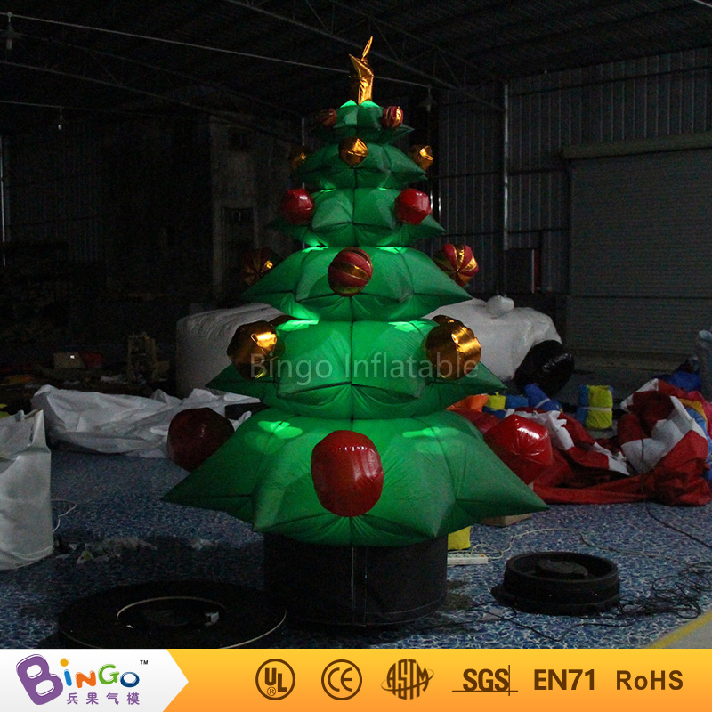 free shipping 22m high inflatable christmas trees high quality blow up christmas decorations for display toys in inflatable bouncers from toys hobbies on - Blow Up Christmas Tree