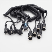 Cord Spiral rope for ELECTRIC Marathon SHIYANG Handpiece Micromotor 5Pcs цена