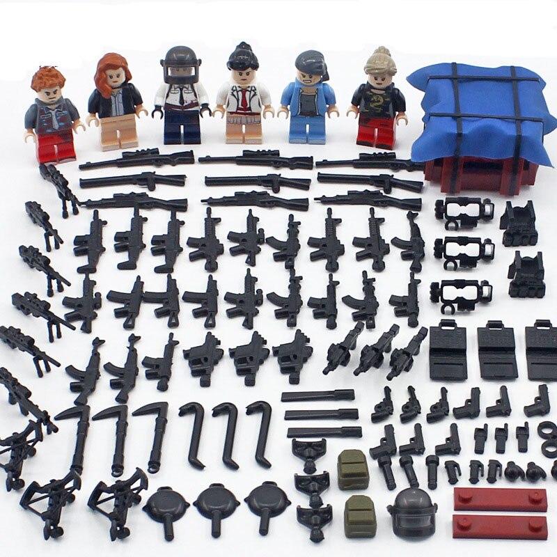 Gaffes Collectible Figure pack avec petites et grandes Poireau Toy Figures