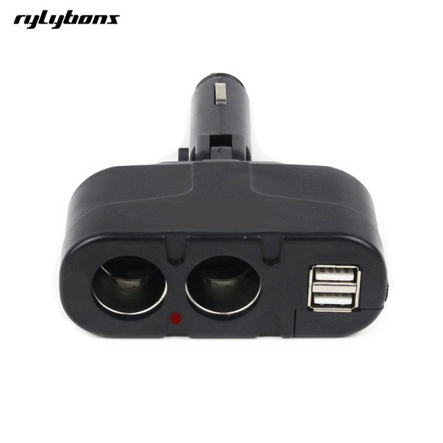 New Dual USB Car Charger Dual Cigarette Lighter Charger For BMW - Audi car charger