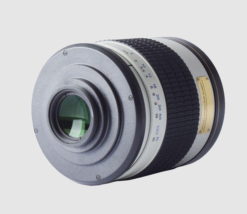 Canon Nikon Pentax Olympus Sony A7 A7RII A6300 DSLR üçün 500mm F / - Kamera və foto - Fotoqrafiya 3