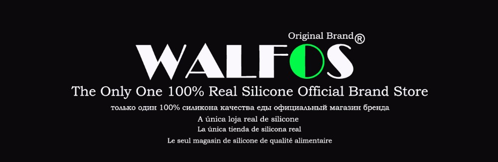 Walfos marca-7 Peças novo Calor-Resistente nylon Utensílio