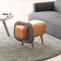 Бук Дерево животных стул для хранения с ящиком мультфильм милый детский подарок верховой езды игрушка дружественной живописи мебель