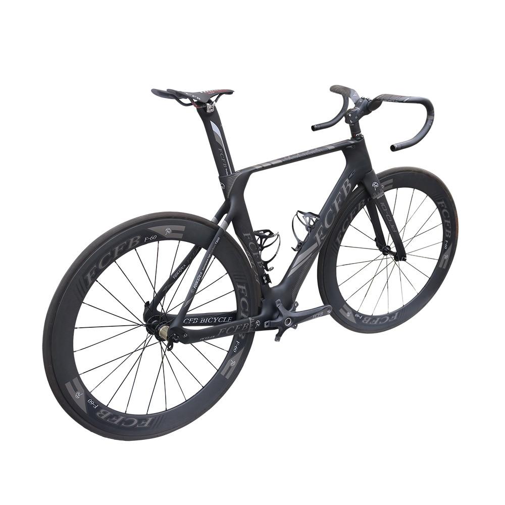 2017 FCFB Carbon Road Bike Pro01 Carbon Road Frame 47/49/51cm 3K Matt BB92 Bicicleta Road Bike Frame With Carbon Wheelt 50