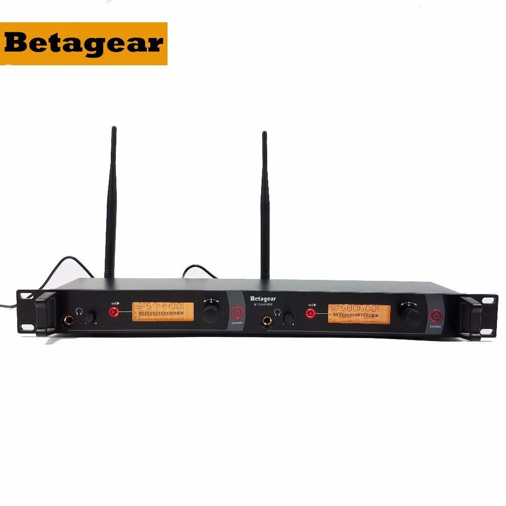 Betagear SR2050IEM Bühne ohr monitore 3 Empfänger BT2050 wireless monitor system bühne in ear monitoring system doul kanal
