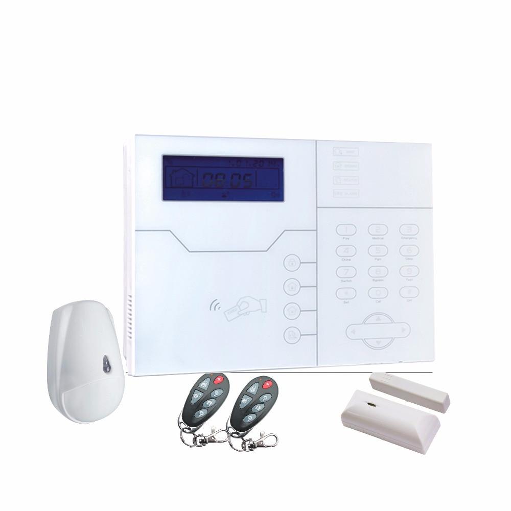 868 mhz Français langue ST-VGT TCP IP GSM WIFI professionnel alarme anti-effraction auto auto-contrôle alarme anti-intrusion d'alarme de sécurité à domicile