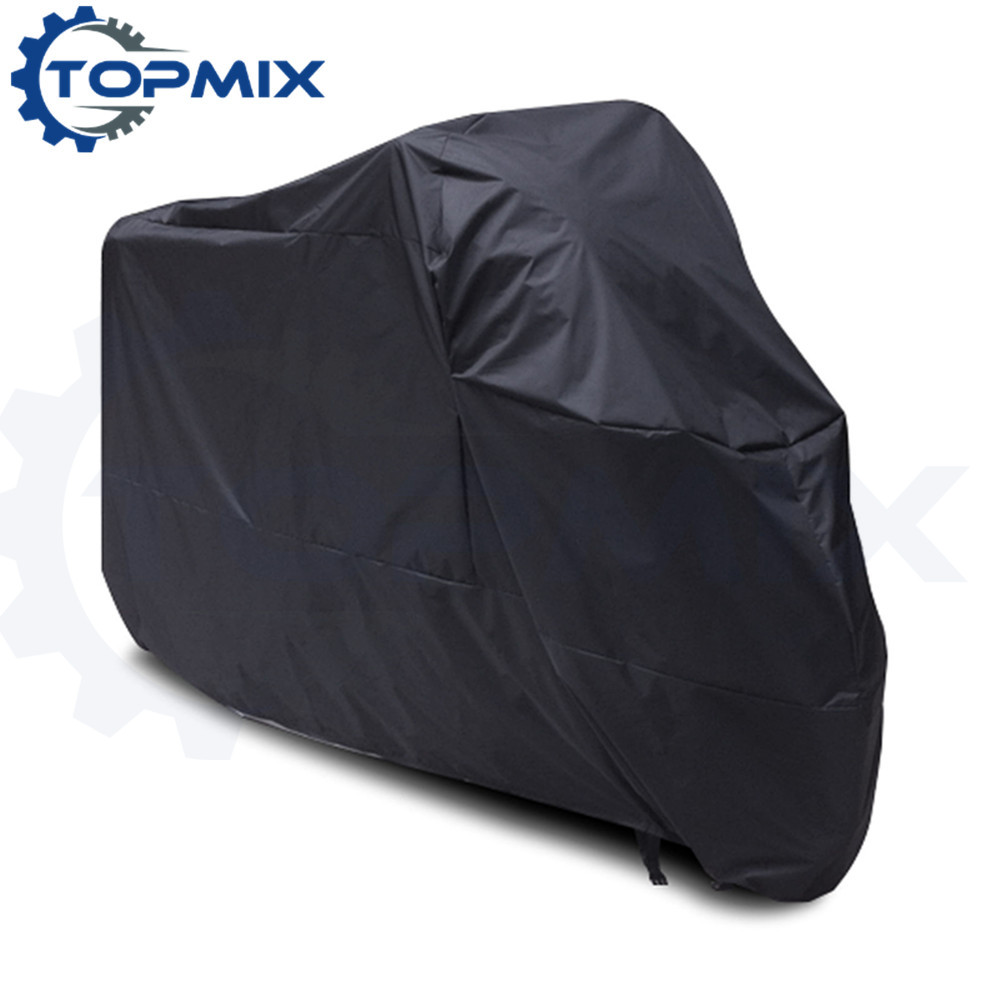 Motorcycle cover black 1
