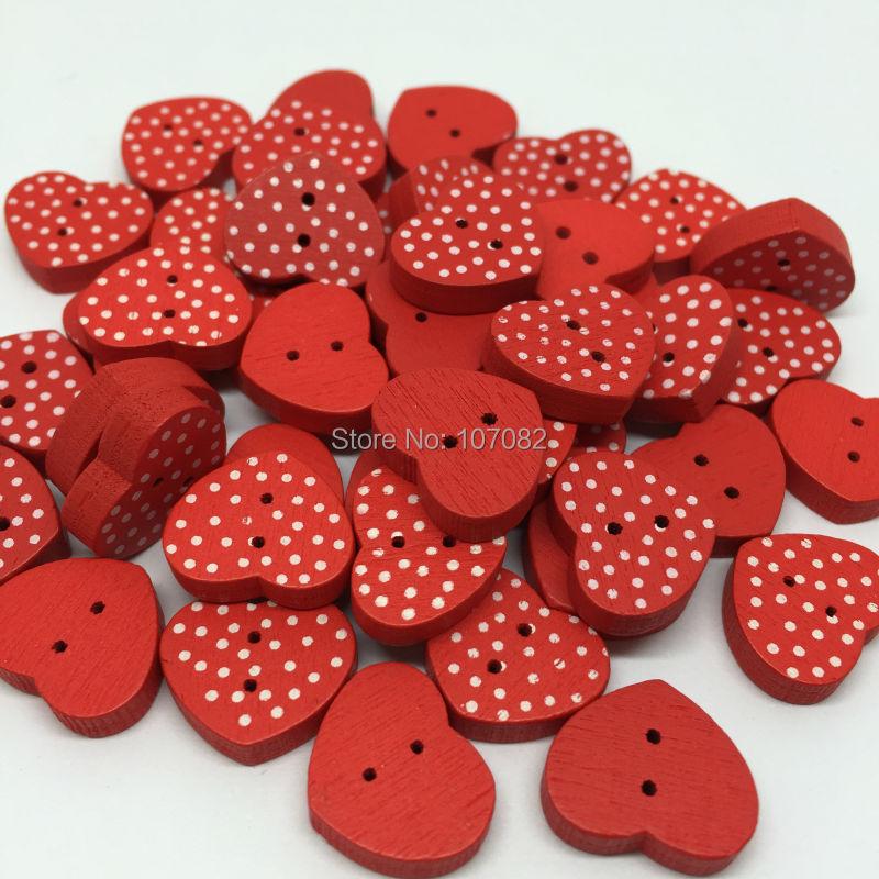 10 Rainbow Spotty Polka Dot Buttons 15mm
