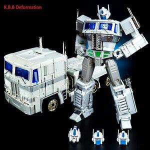 Image 4 - Robot transformable G1 de 18cm modelo kbb mp10 KO, OP MP10V juguete de aleación de Metal, Comandante, Colección fundida, figura de acción para regalo