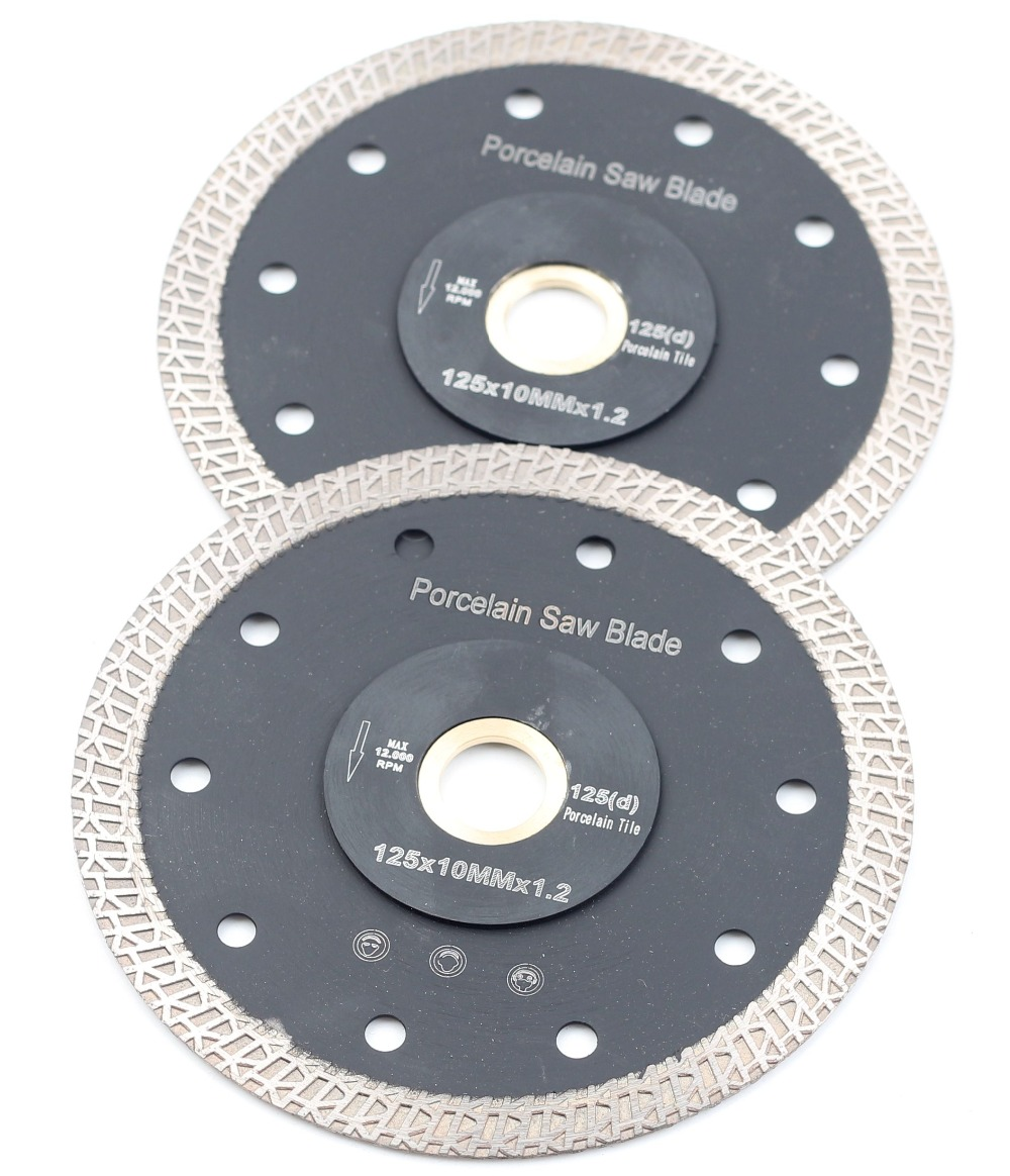 DC-SRSB03 D125mm Super Thin 5 Inch Diamond Porcelain Or Ceramic Cutting Blade