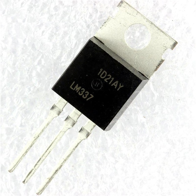 10pcs/lot LM337T LM337 TO-220 Negative Adjustable Regulator IC NEW In Stock