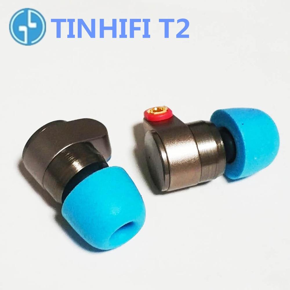 TIN Audio T2 In Ear Earphones dynamic drive HIFI bass earphone metal 3 5mm headset with