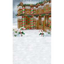 To buy things Chistmas Candy Cane House Viny at cheap price