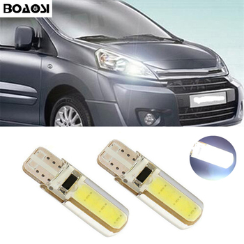 BOAOSI 2x Canbus LED T10 W5W Clearance Parking Light Wedge Light For Citroen C4 C5 C3 Grand Picasso Berlingo Xsara Saxo C1 C2 ds image