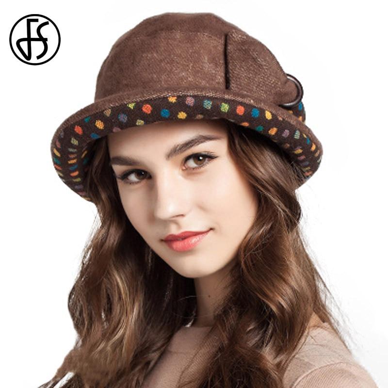 Siggi Cloche Round Hat for Women 1920s Fedora Bucket Vintage Hat Flower  Accent Camel Medium Comhats a62d546ce8c5