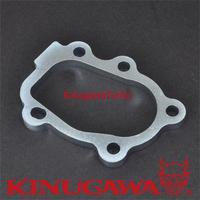 Kinugawa Turbo Turbine Outlet Flange for Garrett GT25 GT28 Ball Bearing / for HKSs GT28RS / for Greddys T518Z SR20DET CA180DET