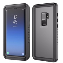 For Galaxy S9 Plus IP68 Waterproof Case Shock Dirt Snow Proof Protection With Touch ID For Samsung S9 Plus Case Cover Skin for galaxy s8 plus case shock dirt snow proof protection for samsung galaxy s8 with touch id cover