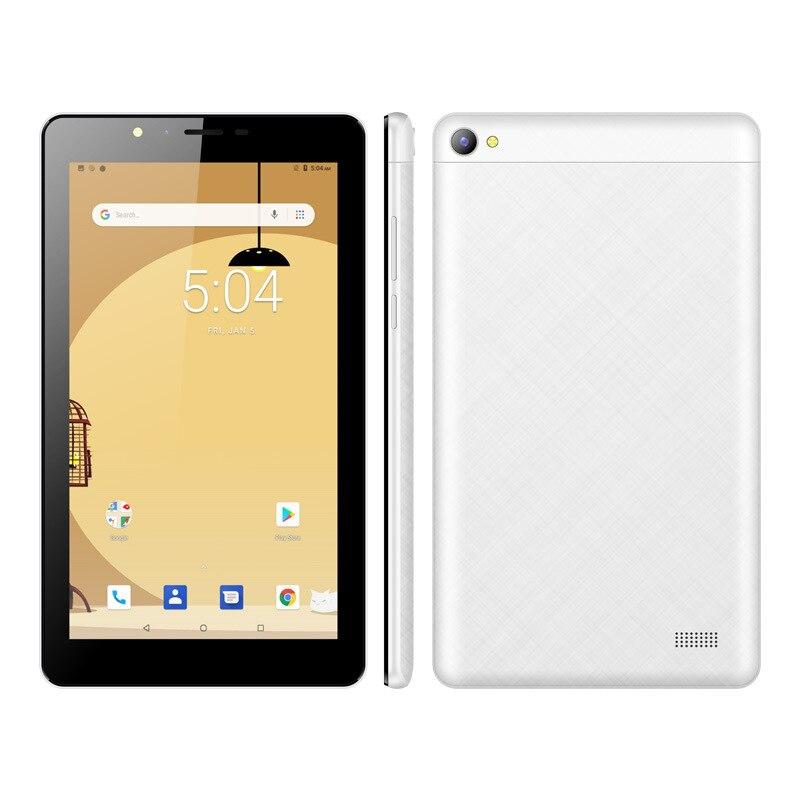 7 pouces tablette 1G/16G MTK8321 quad core Android 8.1 OS WiFi/Bluetooth GPS WCDMA850/1900/2100 MHz 3G téléphone intelligent double carte SIM OTG
