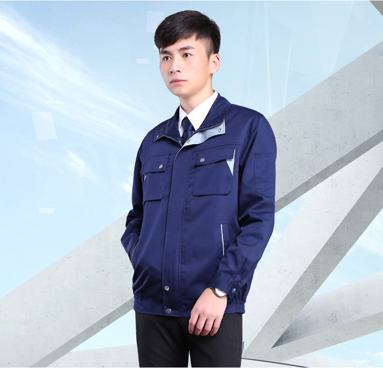US $79 21 18% OFF|Electromagnetic wave anti radiation jacket, factory  machines,computers, electrical room electromagnetic shielding work  clothing,-in