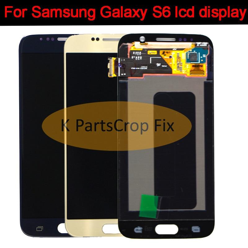 Voor samsung galaxy S6 LCD touch screen digitizer G920i G920P G920F G920V G920A G920W8 PANTALLA voor samsung s6 lcd scherm-in LCD's voor mobiele telefoons van Mobiele telefoons & telecommunicatie op AliExpress - 11.11_Dubbel 11Vrijgezellendag 1