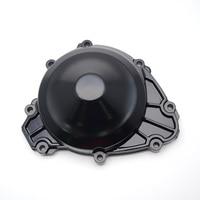 Motorcycle Black Aluminum Left Side Crankcase Stator Starter Engine Cover For YAMAHA YZF R1 YZF R1 2009 2010 2011