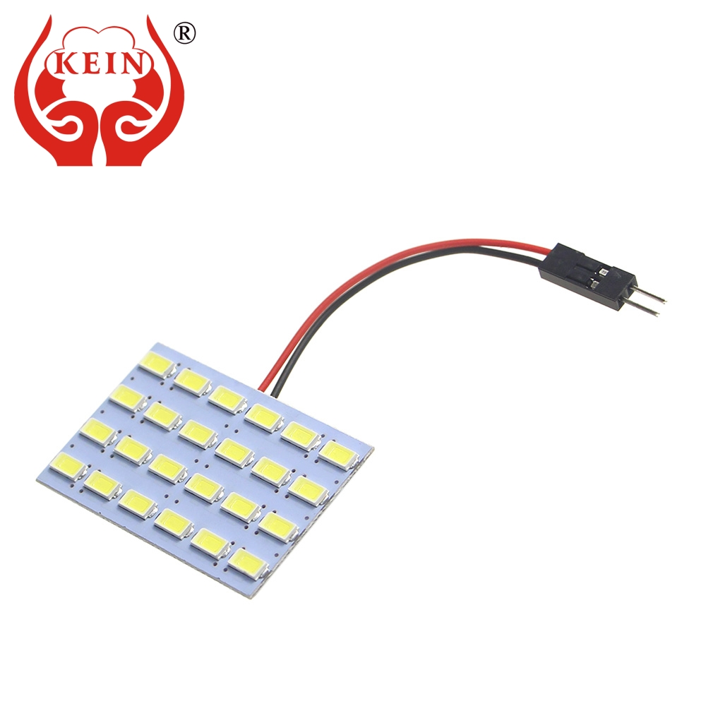 KEIN 50PCS 24SMD 5630 BA9S festoon Light T10 W5W T4W led car 31mm 36 39 41