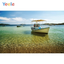 Yeele Seascape Port Tour Ships Beach Sky Room Decor Photography Backdrops Personalized Photographic Backgrounds For Photo Studio