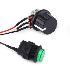 Image 5 - Silnika prądu stałego PWM Regulator prędkości 6V 12V 24V Regulator prędkości silnika cyfrowy wyświetlacz z IR pilot zdalnego sterowania