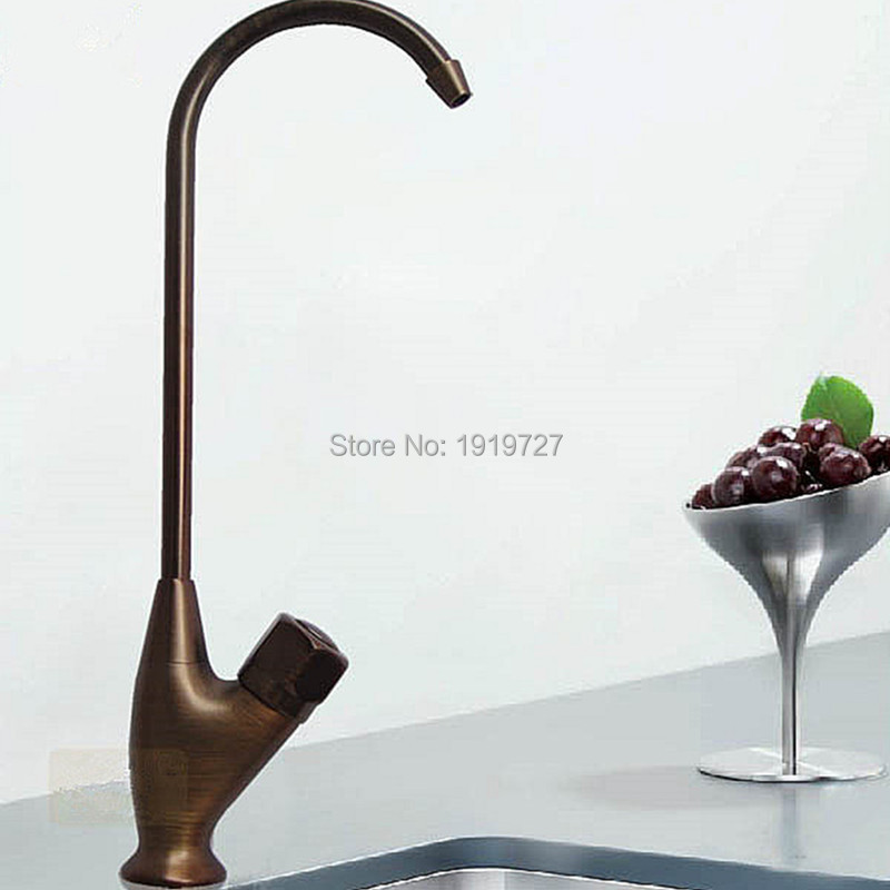 100% Solid Brass Factory Direct Swivel Round Classic Style Plumbing Little Gourmet Cold Water Dispenser Faucet In Bronze