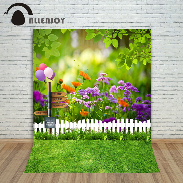 Allenjoy фотографическое фон Шар леса трава размытие фонов новорожденных детей фото телефонная книга 10x20