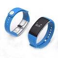 S1 Banda de Freqüência Cardíaca Do Bluetooth Inteligente Pulseira De Fitness Rastreador Monitor de Oxigênio No Sangue Chamada/SMS Lembrete Inteligente Pulseira para Celular