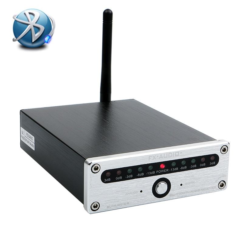 NOUVEAU FEIXIANG FX-Audio BL-MUSE-02 CSR8670 NE5532P TA7666 Bluetooth 4.0 HIFI audio récepteur fiber coaxial AUX sans perte APTX 12V1A