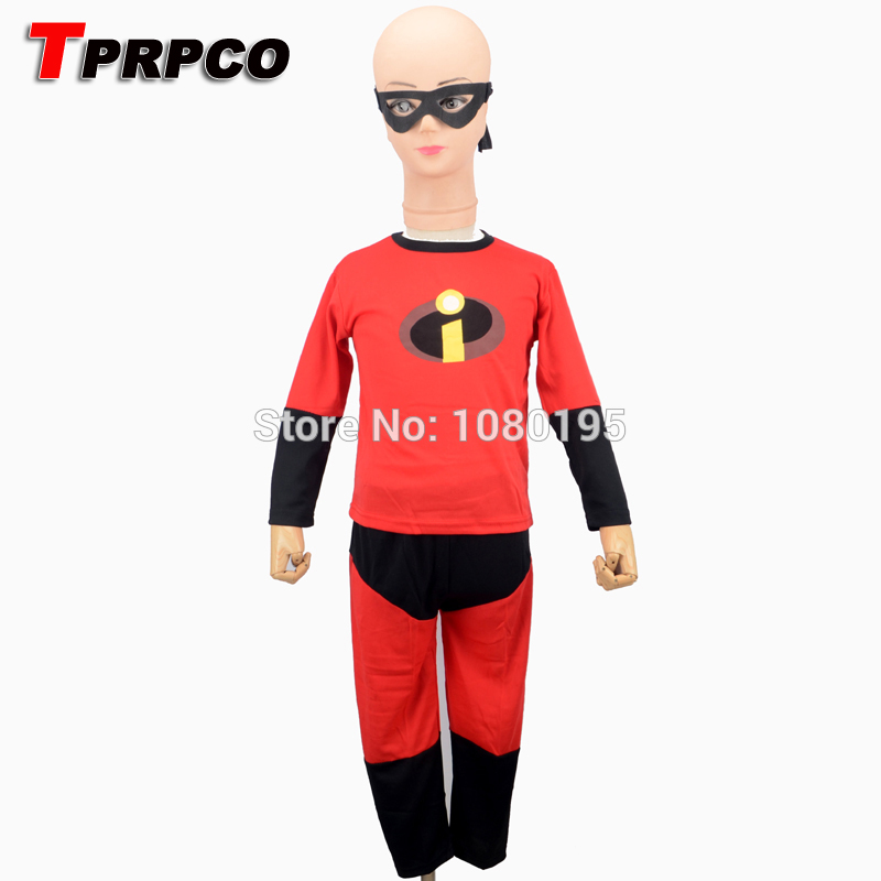 TPRPCO The Incredibles Costume Halloween Costume For Kids ...