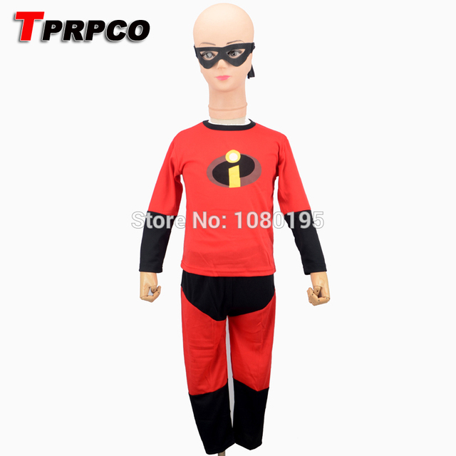 TPRPCO The Incredibles Costume Halloween Costume For Kids Disfraces Carnaval Child Anime Cosply Boy Long Sleeve  sc 1 st  AliExpress.com & TPRPCO The Incredibles Costume Halloween Costume For Kids Disfraces ...