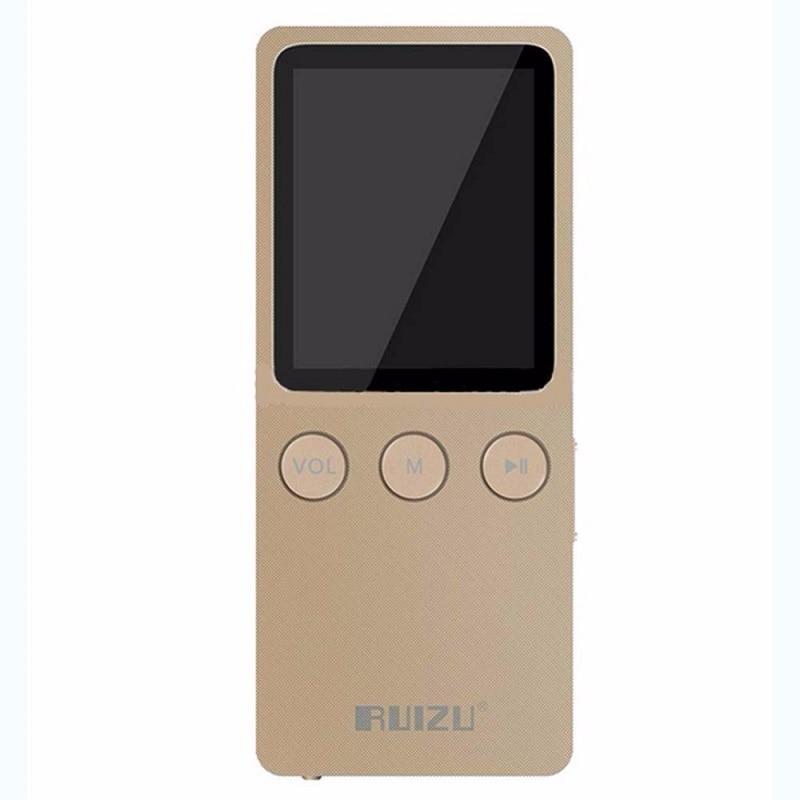 RUIZU X08 MP3 Player 8GB HiFi Lossless Music Walkman Video Radio FM Have Speaker Support Micro SD TF Card Can Play 200 Hours world cool s3 music player mp3 студия hifi lossless music mp4 walkman mini radio mp5