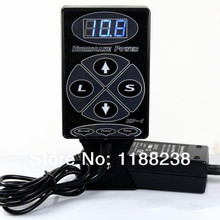 Tattoo Power Supply Metal material Brand-New Hurricane Power Supply Digital LCD Dual Input Power Supply PS-5 for tattoo machine
