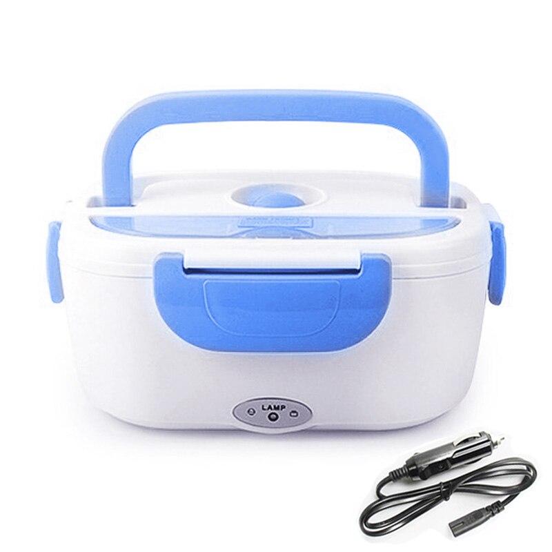 12V Portable boîte à déjeuner électrique avec bouchon chauffé plus chaud récipients alimentaires bureau à domicile en plastique Bento boîte vaisselle adulte
