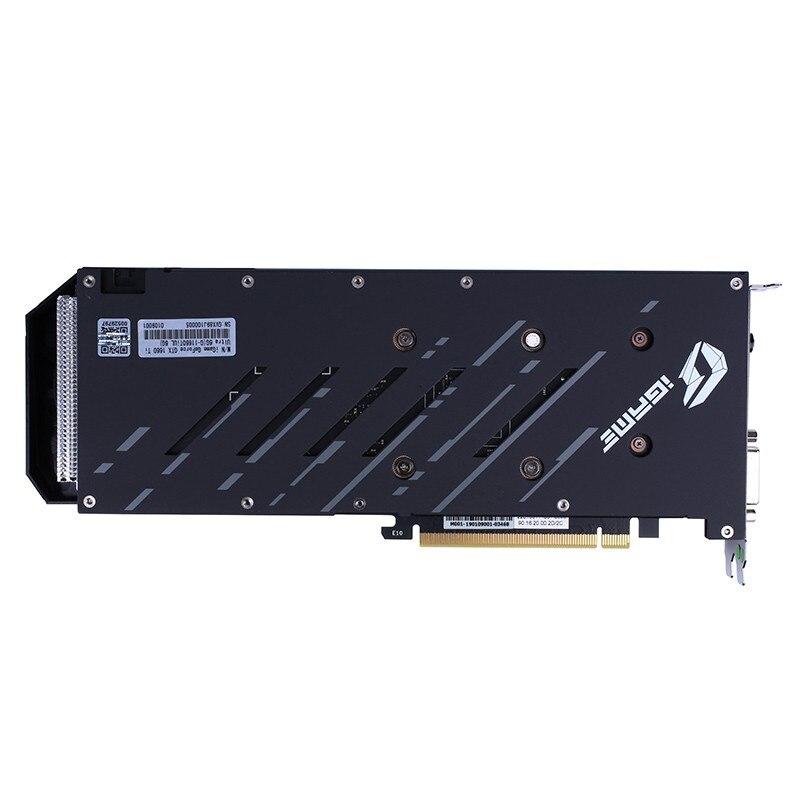 IGame coloré GeForce GTX 1660 Ti Ultra 6G carte vidéo de jeu 6 GB 192bit GDDR6 1845 Mhz PCI-EX16 3.0 carte graphique HDMI pour PC - 5