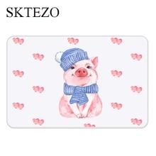 SKTEZO Bathroom Diatomaceous Earth Mat Anti-skid Pad Quick-drying Home Floor door mat doormat