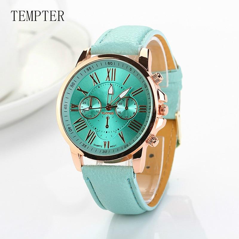 Dropship 2018 Fashion Quartz Watch Women Wrist Watches Ladies Wristwatch Female Clock Quartz-watch Relogio Feminino Montre Femme
