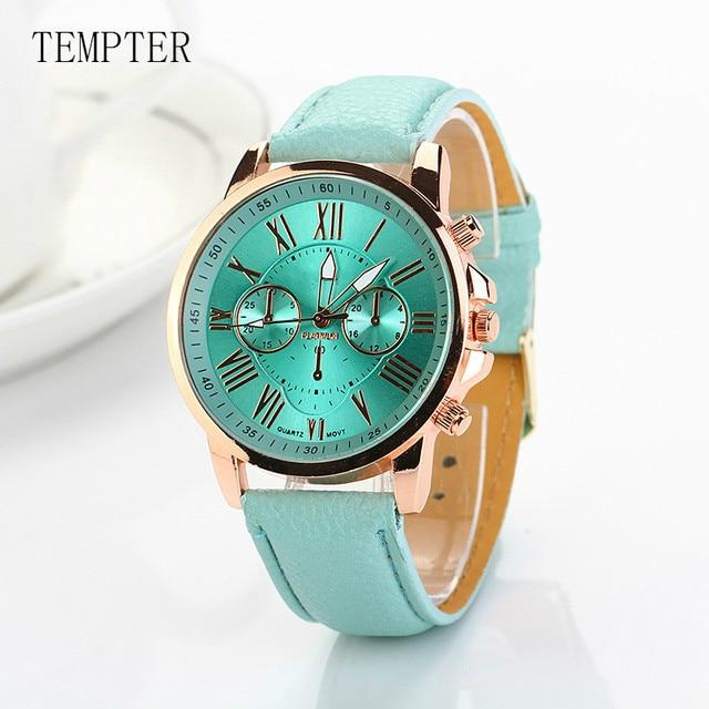 Dropship 2018 Fashion Quartz Watch Women Wrist Watches Ladies Wristwatch Female