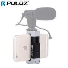 PULUZ Universal Clamp Holder Bracket Cold Shoe Phone Aluminum Alloy