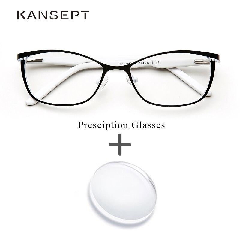 Óculos de olho de gato computador miopia oculos de grau feminino armação óculos ópticos para feminino # twm7553c1