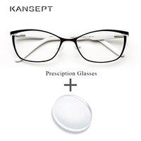 Metal Women Prescription Glasses Cat Eye Computer Myopia Oculos de grau feminino armacao Optical Eyeglasses for Female#TWM7553C1