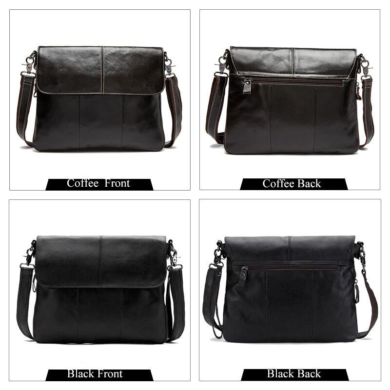 e5a155ba1396 WESTAL сумка мужская натуральная кожа сумка мужская через плечо мужские  сумки Сумки На Ремне маленькая сумка Мужчины портфель мужской бизнес .